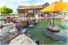 """Crystal Hot Springs : Utah This is one of (if not THE BEST) hot springs in Utah It has 2 heated water slides, heated Olympic pool, heated chlorine pool, & full hookup (water, 50 Amp power, & sewer).  If you're looking for the best short dip w/family & friends, and/or the quietest & best little """"get-away"""" weekend for the whole crew...try Crystal Hot Springs in Honeyville, UT."""