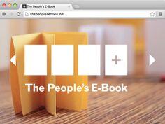 The People's E-Book by Hol Art Books, via Kickstarter.