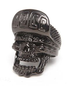 Buy Loco Skull Ring Men's Accessories from Han Cholo. Find Han Cholo fashions & more at DrJays.com