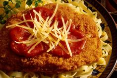 This classic veal Parmesan recipe is surprisingly easy to prepare and it makes a fabulous meal with hot cooked spaghetti, garlic bread, and a salad.