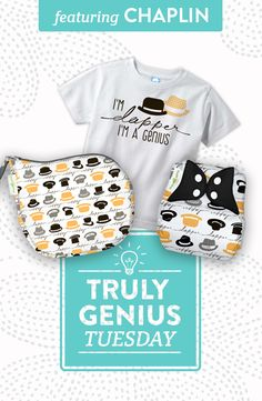 Today is Truly Genius Tuesday, and we're talking about a guy best known for silence, Charlie Chaplin! Learn more about the genius behind our Genius Series Chaplin print, shop our Chaplin sales and enter to win our Chaplin Prize Pack! #trulygeniustuesday