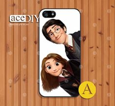 Disney Tangled Harry Potter Phone cases iPhone 5 case by aceDIY, $7.99