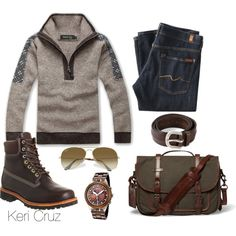 A fashion look from November 2014 featuring Swatch watches and Ray-Ban sunglasses. Browse and shop related looks.