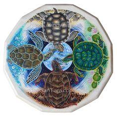 Turtle Island Totem Shield by *ssantara on deviantART