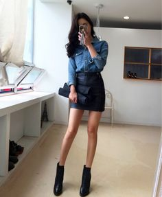 Imagen de asian fashion, kfashion, and korean fashion