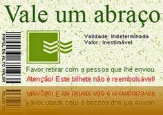 Luiza's Blog: DIA DO ABRAÇO - VALE UM ABRAÇO