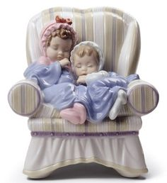LLADRO - MY TWO LITTLE TREASURES