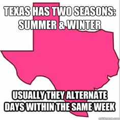 So so true! Texas. Like it or LEAVE IT!