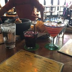 *Rocco's Tacos & Tequila Bar - Brooklyn, NY, United States. Guacamole and margaritas