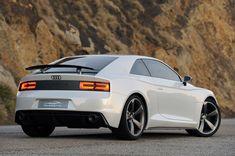 Audi Quattro Concept Quick Spin – Rear Angle 01