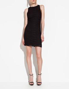 LACE TUBE DRESS - Dresses - Woman - ZARA