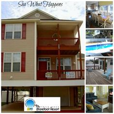 Come stay in this 4 Bedroom/3 Bath house located in the Windy Hill section of North Myrtle Beach. With its own private fenced in pool, you can have the whole family vacation by the beach and still be close to all the attractions that the Grand Strand has to offer.  👙 🏄🏻 🚣🌴 Call us today at 888-488-8588 to book your next #MyrtleBeach Vacation  #BeachVacation #FamilyVacation #GrandStrand #GolfVacation #Golf #MakingMemories #Summer2017