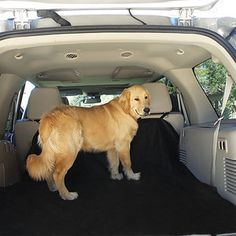 Oxford Waterproof Pet Seat Cover/Dog Hammock With Adjustable Buckles And Seat Belt Openings for Cars/SUV's/Trucks.For more info visit www.imoonsteps.com