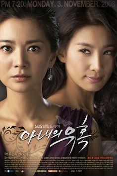 temptation of wife  http://www.koreandrama.org/wp-content/uploads/2008/10/Temptation-of-Wife-Poster1.jpg