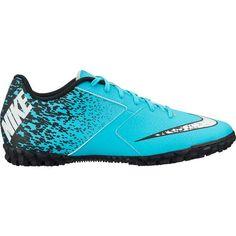 d86f2f54eb Nike Men s BombaX Indoor Soccer Shoes (Turquoise Black