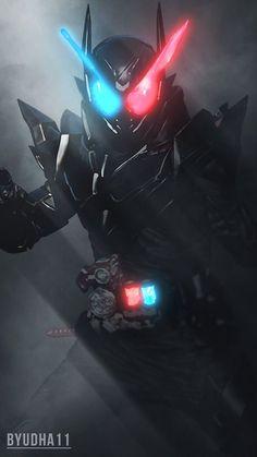 Kamen Rider Build : Rabbit Tank Hazard Wallpaper by Byudha11