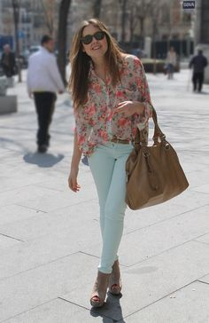 Spring Fever!  Love this look!  ...might would do a different wedge