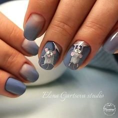 Mouse design nail designs coffinnail designs for short nails step by step self adhesive nail stickers nail art sticker stencils best nail polish strips 2019 Nails Inc, Toe Nails, Fancy Nails, Pretty Nails, Nail Art Sticker, Nail Stickers, Animal Nail Art, Nails Polish, Best Nail Art Designs