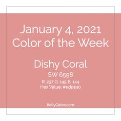Your Color of the Week and energy reading for the week of January 4, 2021. It's time to dish up A Beautiful View and the spiritual nourishment you desire. Let's go!