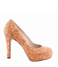 cork shoes. so fun to touch.