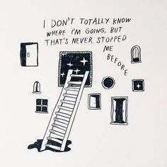 stars / stairs / illustration /motivation /go for it