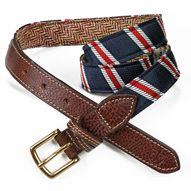 Peyton Heritage belt by Kiel James Patrick (kieljamespatrick.com) - handcrafted in Rhode Island