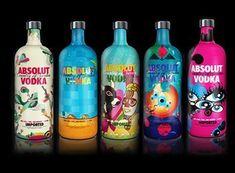 diseños packaging vodka absolut 15