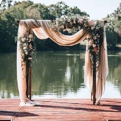 Beautiful wedding arch �� http://gelinshop.com/ipost/1524525695866728291/?code=BUoNAsJF29j