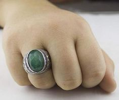 Mens Emerald Ring brings good luck and enhances well being of the wearer. Emerald is the stone of successful love and grants loyalty to its wearers. Mens Emerald Rings, Emerald Gemstone, Gemstone Rings, Rose Gold Diamond Ring, Rose Gold Engagement Ring, May Birthstone Rings, Tungsten Wedding Bands, Morganite Ring, Topaz Ring