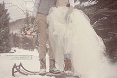 Winter Wedding Picnic