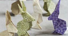 coelho coelhinho em origami; Porto Alegre Origami