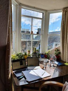 Study Desk, Study Space, My New Room, My Room, Study Corner, Study Room Decor, Study Areas, Dream Apartment, Study Motivation