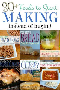 30+ Foods to Start Making Instead of Buying