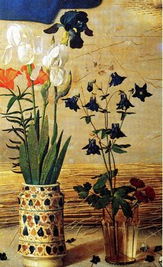 Mary's Flowers in the Portinari Altarpiece