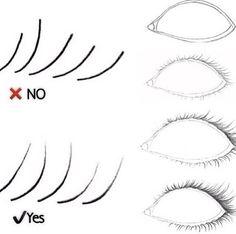 Amazing Learn To Draw Eyes Ideas. Astounding Learn To Draw Eyes Ideas. Eye Drawing Tutorials, Drawing Techniques, Art Tutorials, Drawing Skills, Drawing Lessons, Drawing Tips, Manga Drawing, How To Draw Eyelashes, Eyelashes Drawing