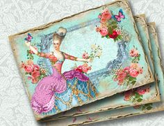 Marie Antoinette shabby rose cottage. French by VorontsovaART