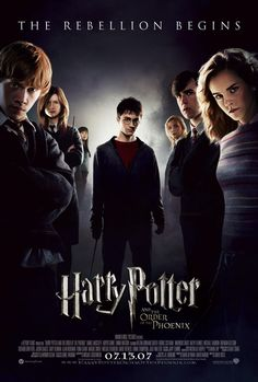 """Harry Potter and the Order of the Phoenix. 5th part. out of words. i never knew of """"death eaters"""" untill i saw the 5th."""