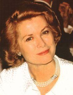 Grace of Monaco in Paris, 1977.