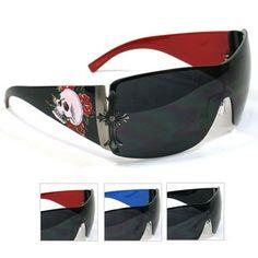 Tattoo Print Sunglasses SSM3640B Hot trendy fashion sunglasses - Visit us online at www.trendyparadise.com