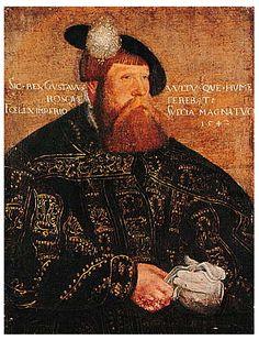 (Gustav Vasa) Portrait of Gustav I of Sweden, 1542 Jacob Binck (possibly a later copy). Now in the Uppsala University's art collection. Uppsala, Lappland, History Of Sweden, Helsinki, Renaissance, Swedish Royalty, Great King, German Fashion, Fjord