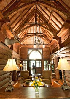 The 1912 Stout's Island Lodge on Red Cedar Lake promises a secluded summer getaway. More Midwest resorts we love: http://www.midwestliving.com/travel/around-the-region/ultimate-midwest-resorts/page/10/0