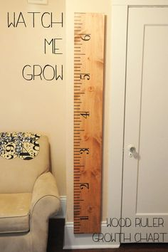 growth chart - I want to do this for Jeni/Dean