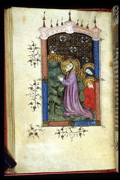 Book of Hours, Use of Sarum OriginNetherlands, S. (Bruges) Datec. 1390-1400 LanguageLatin