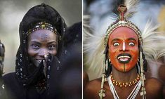 The wife-stealing tribe where its the men who wear the make-up: