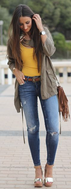 Safari Chic Inspiration Outfit