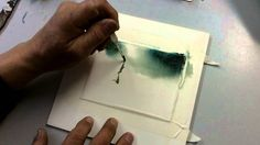 100 0145 Simple method to paint rocks and trees.