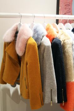 Faux Fur Inspiration in candy colours and pastels #AnthropologieEu #anthrofave