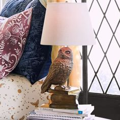 HARRY POTTER™ HEDWIG™ Lamp | Pottery Barn Teen