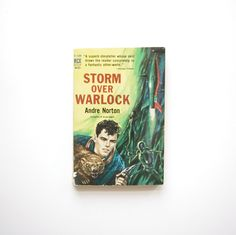 Storm Over Warlock - Andre Norton - Ace Books Paperback - 1960 by ThisCharmingManCave on Etsy  https://www.etsy.com/listing/222343171/storm-over-warlock-andre-norton-ace  #AndreNorton