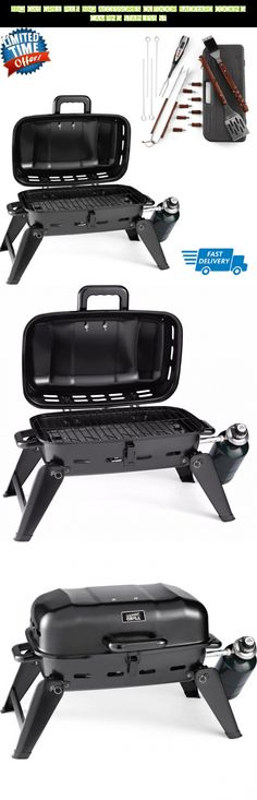 BBQ Gas Grill Plus BBQ Accessories Outdoor Backyard Cooking Camping Stainless St #parts #plans #camera #accessories #technology #drone #fpv #racing #kit #gadgets #cooking #outdoor #shopping #products #tech